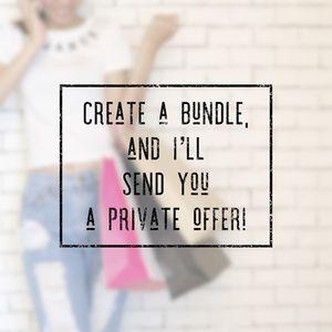 Other - Even bundles of ✨1✨ get an offer